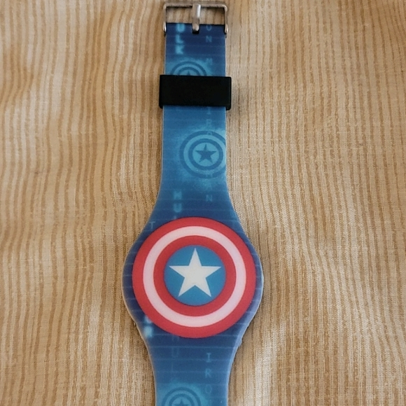 Captain America LED watch